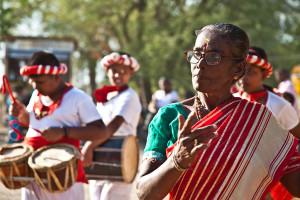Procession, Pattini devale, Panama, Eastern Province