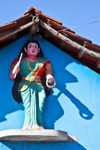 Kannaki Amman statue, Kurunji Nagar, Eastern Province