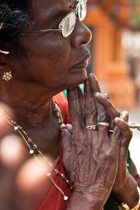 Kannaki devotee, Omanthai